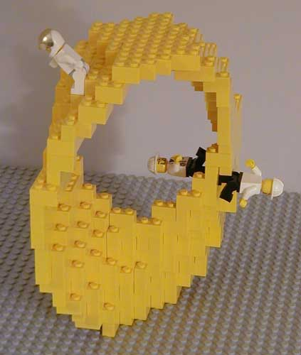 Andrew Lipsons Mathematical Lego Sculptures